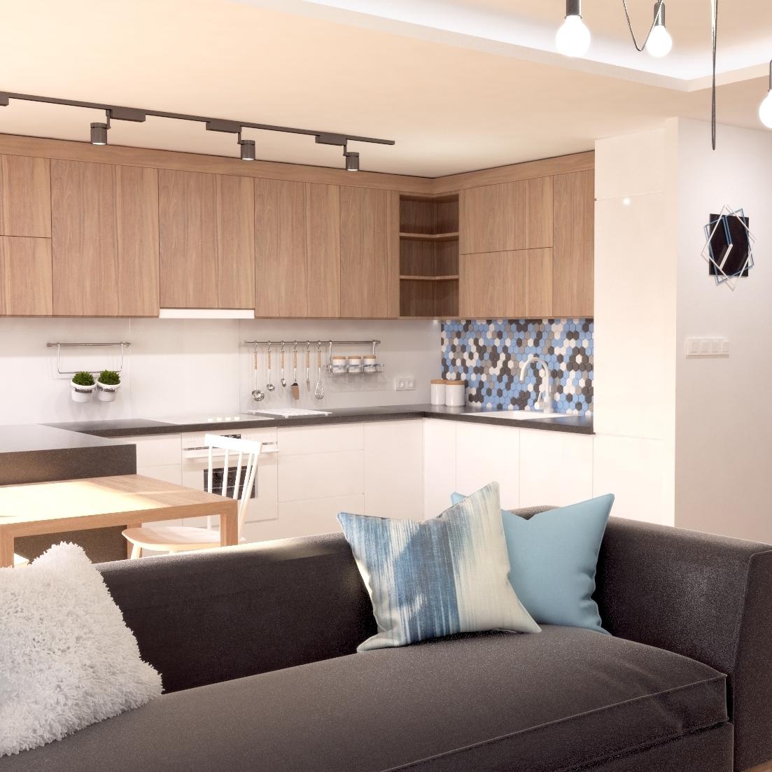 Projekt mieszkania w Opolu od Wizualhome.
