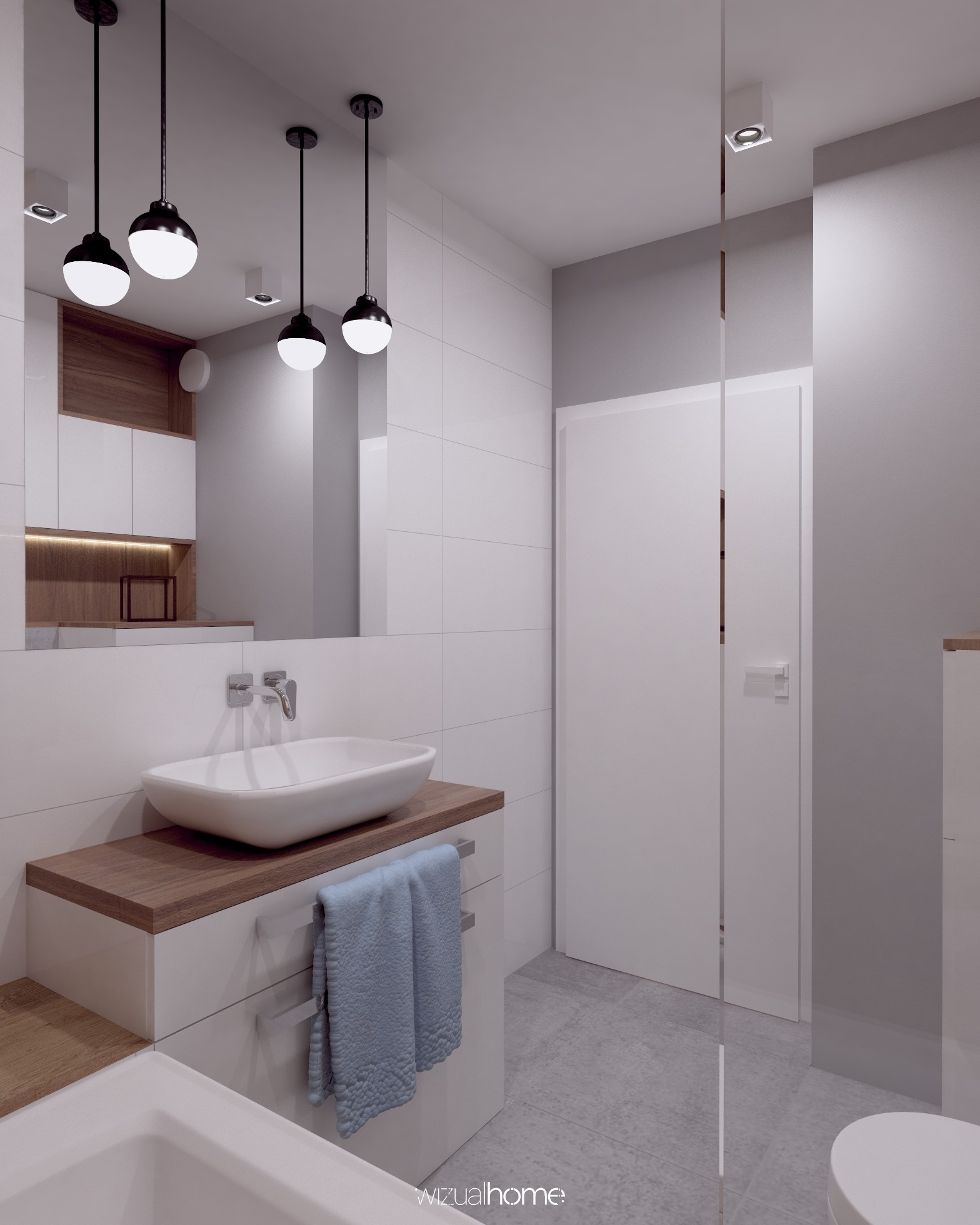 Projekt nowoczesnej łazienki w Opolu