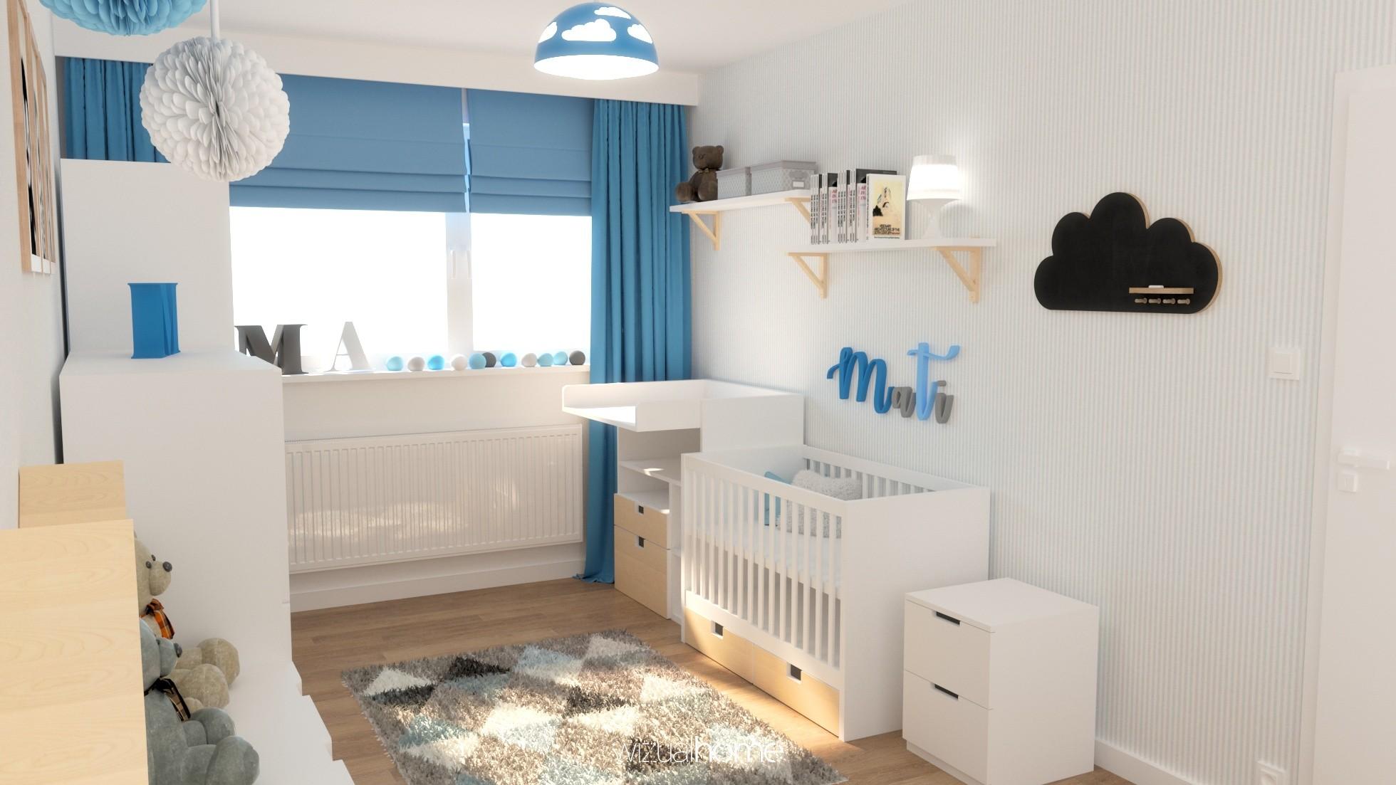 Projekt wnętrza pokoju dziecięcego w Opolu